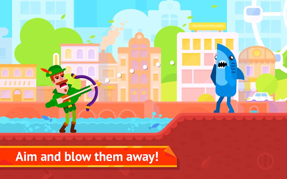 Bowmasters Android App Screenshot