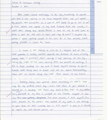 Thesis Statement For Argumentative Essay  An Essay About Health also Thesis Statement Examples Essays Sample Spm English Essay Continuous Writing Writing Essay Papers
