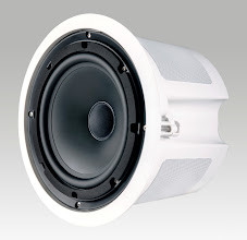 Photo: Krix Stratospherix outdoor in-ceiling speaker.