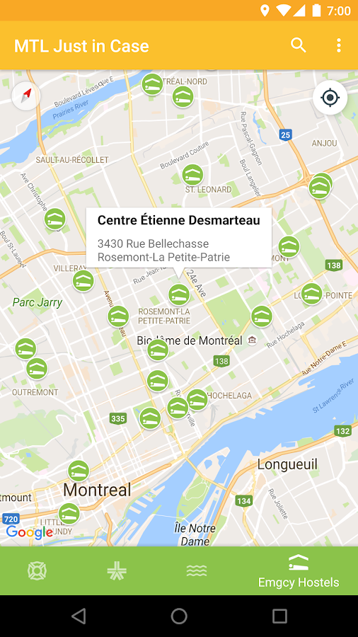 Montreal Just in Case- screenshot