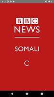 screenshot of BBC News Somali