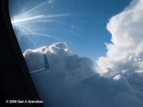 Photo: Flying around the CB's