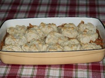 Jicama Apple Cobbler Bake Recipe