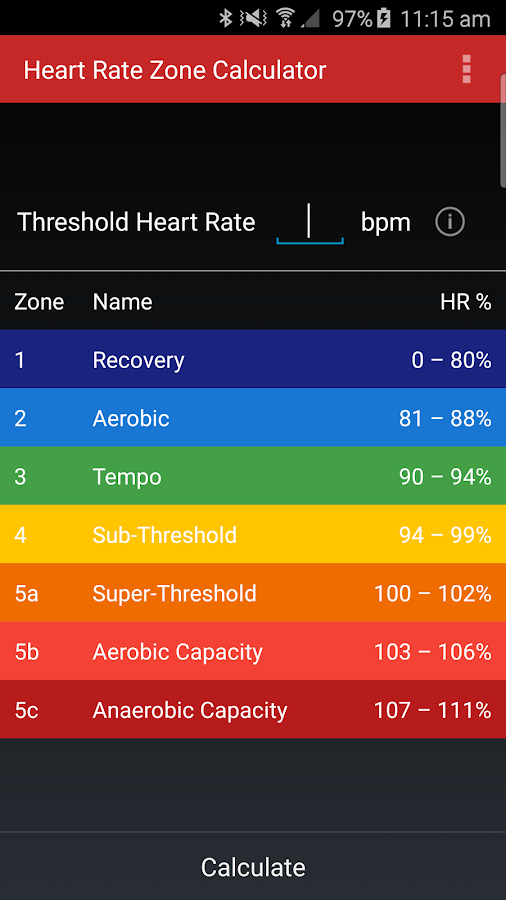 Heart Rate Zones - Android Apps on Google Play