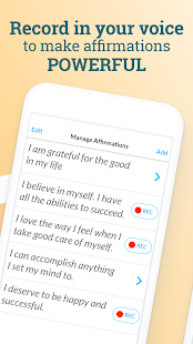 ThinkUp - Positive Affirmations, Daily Motivation Screenshot