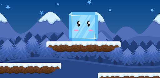 Ice Fall adventure sliding game