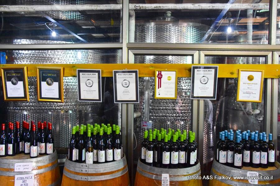Вина винодельни Мони, Израиль.