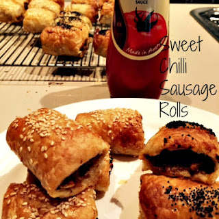 Sweet Chilli Sausage Rolls
