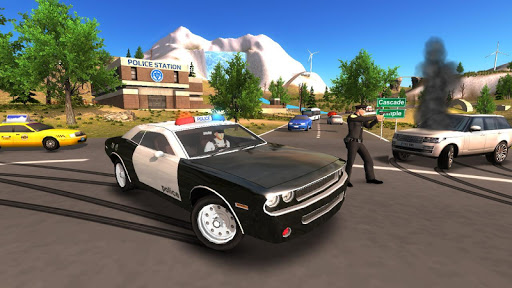 Police Car Driving Offroad 2 screenshots 1