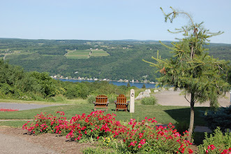 Photo: overlooking Keuka Lake