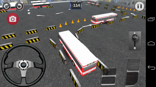 Bus speed parking 3D