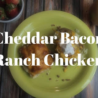 Cheddar Bacon Ranch Chicken.