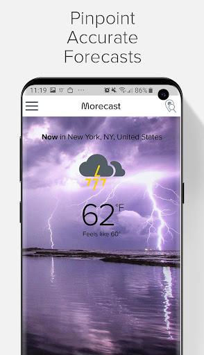 Weather Forecast, Radar & Widget - Morecast 4.0.27 Screenshots 2
