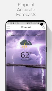 Weather Forecast, Radar & Widget - Morecast Screenshot