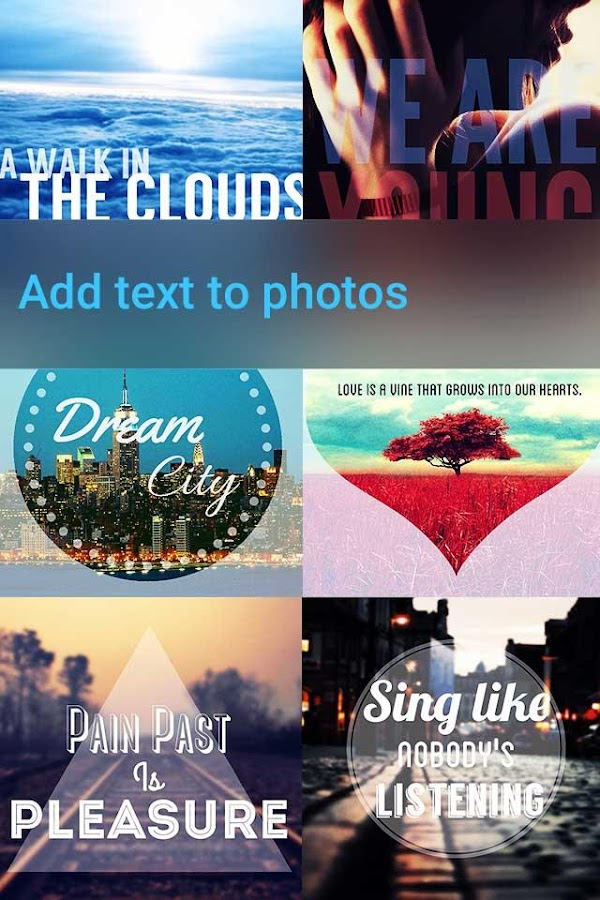 Font Studio- Photo Texts Image- screenshot