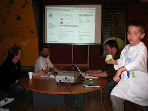 Photo: Application demos