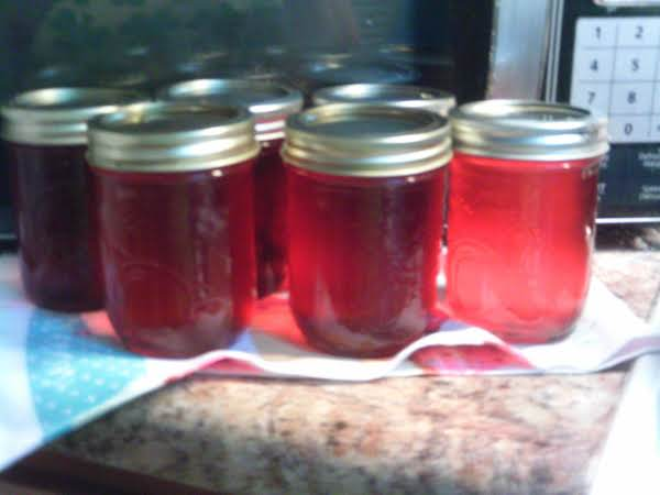 Grace123's Apple-cherry Jelly Mmmm Smells Great Recipe