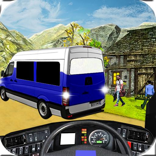 Off Road Tourist Van Simulator 3D