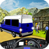 Off Road Tourist Van Simulator 3D