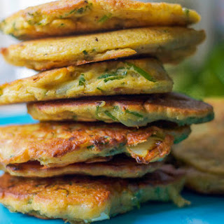Zucchini Fritters Chickpea Flour Recipes