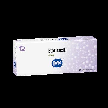 Etoricoxib Mk 60Mg   Tabletas Caja X14Tab.
