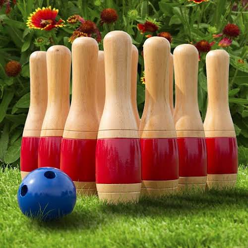 1. Wooden Lawn Bowling  From kids to grandparents to the family dog...