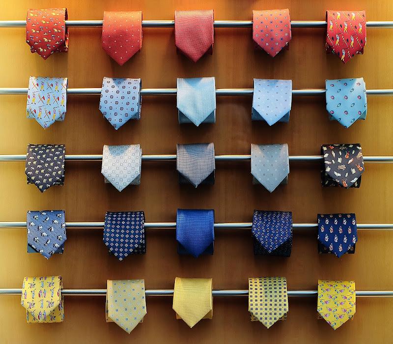 Cravatte a volontà di romano