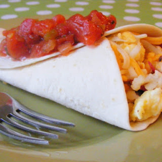 Bacon Hashbrown Breakfast Wraps.