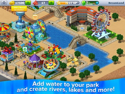 RollerCoaster Tycoon 4 Mobile MOD (Unlimited Money) 7
