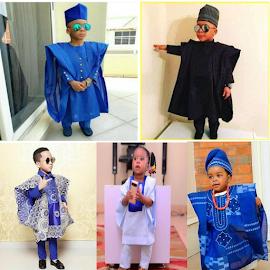 Kids Agbada Fashion Styles
