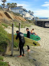 Photo: Surfers on Pacific Beach