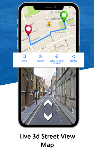 GPS Live Street View, Voice Route & Offline Maps 1.4 screenshots 1