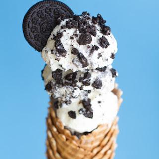 No Churn Oreo Ice Cream.