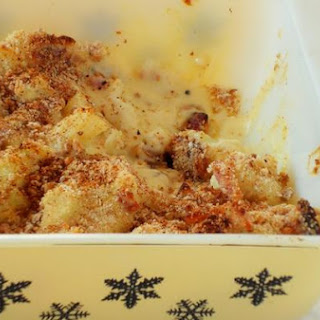 Baked Cauliflower With Yoghurt