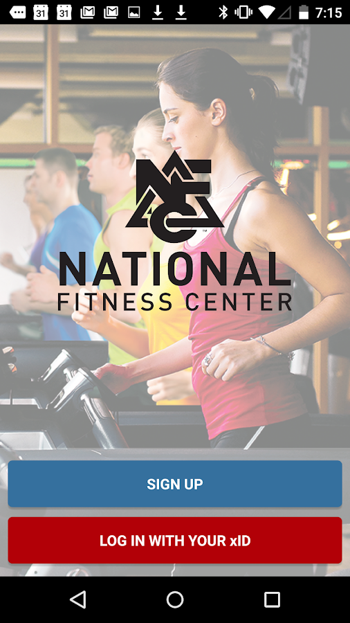 National Fitness Center- screenshot