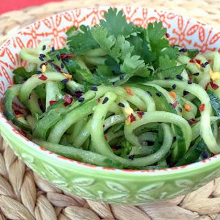 Sesame Cucumber Noodle Salad