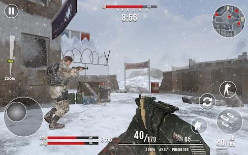 قواعد الحرب العالمية الحديثة: FPS Shooting Games 4