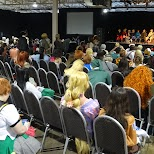 gatherings at Anime North 2014 in Mississauga, Ontario, Canada
