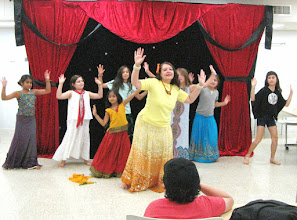 Photo: Bollywood lesson at Challenge Camp by Gargi (day 13).... first concert with the kids
