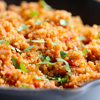 One-Pot Mexican Style Quinoa.