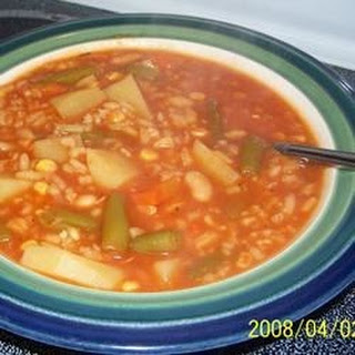Easy Vegetable Soup With Stew Meat Recipes