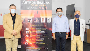 Programa de actividades que se desarrollarán durante estas jornadas astronómicas en la provincia.