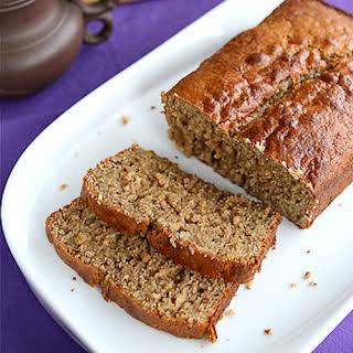 Peanut Butter & Banana Whole Wheat Quick Bread.