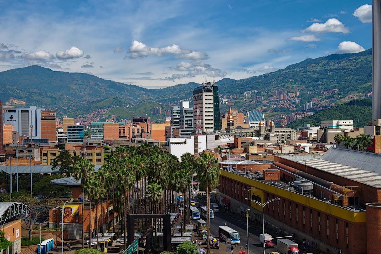 Medellin widok