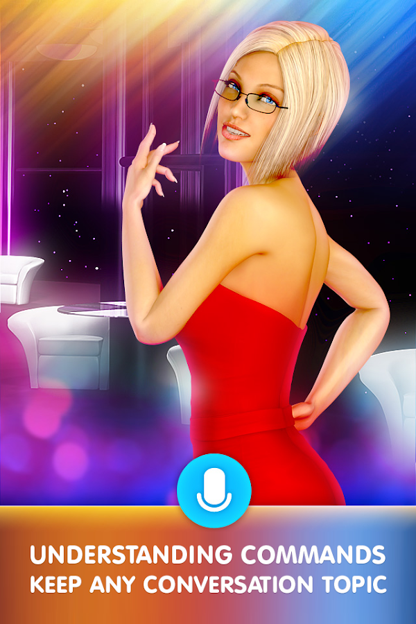 Pocket Blonde Cyber Girlfriend- screenshot