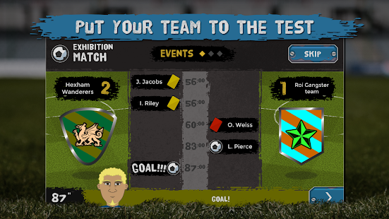 Underworld Football Manager screenshot