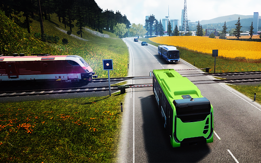 Bus Simulator Bus Coach Simulator Free 1.0.2 screenshots 3