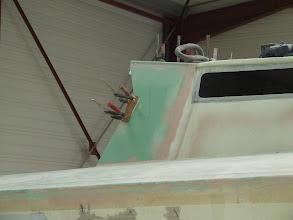 Photo: pose de la casquette de roof