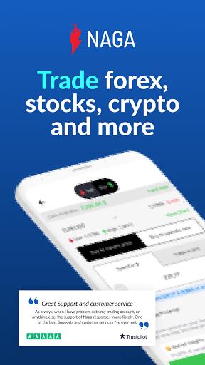 NAGA - Social Trading Stocks, Forex and Crypto  Paidproapk.com 1