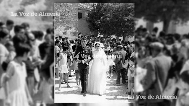 En 1970 José Rodríguez Iniesta, alias 'el Peke', se casó con Luisa Segovia Bautista en el pueblo de María. Ella misma fue confeccionándose el ajuar.